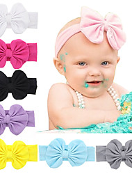 Baby Flower Headwear Girls Bow Hairband Kids Headband Stretch Turban Knot Head Wrap Hair Bands Hair Accessories