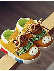 Baby Girl's Flats Comfort PU Casual Yellow Red