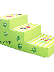 Dog Bed Pet Mats & Pads Casual/Daily Green Fabric