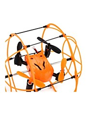 HELIC max Sky Walker 1336 4-Kanal-2.4g rc Quadcopter 3d Roll Copter mit Klettern / Walking / flying-Funktion - Orange