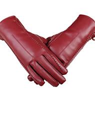 Herbst und Winter hohe Qualität PU-Touch-Screen-warme Handschuhe