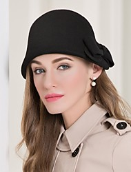 Women's Wool Headpiece-Special Occasion Casual Hats 1 Piece