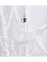 Weihnachtsdekorationen den Anhänger Schneeflocke Ball