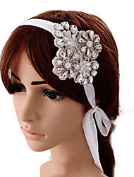 Women's Satin Headpiece-Wedding Special Occasion Flowers 1 Piece