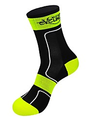NUCKILY® Bike/Cycling Socks Breathable / Thermal / Warm / Wearable Spandex / Nylon / LYCRA®Camping / Hiking / Leisure Sports / Badminton