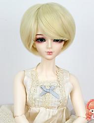 1/3 1/4 BJD сд MSD кукла парик синтетические короткие прямые отбеливатель блондинка цвет волос парик не для взрослого человека