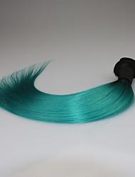 A Ombre Cheveux Brésiliens Droit 3 Mois 3 Pièces tissages de cheveux