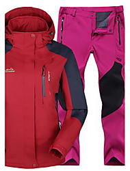 Women's Men's Tops Bottoms Camping / Hiking Snowsports Running Waterproof Thermal / Warm Windproof Insulated ComfortableSpring