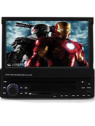 7 pouces 1DIN lecteur DVD de voiture avec gps bluetooth ipod DVB-T rds 3d