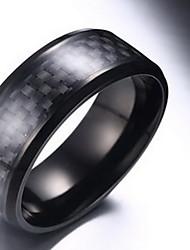 Ringen Feest / Dagelijks Sieraden Heren Ring 1 stuks,One-Size Zwart