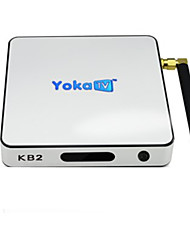 Yoka TV Amlogic S912 Android TV Box,RAM 2GB ROM 32 Гб Octa Core Wi-Fi 802.11g Bluetooth 4.0