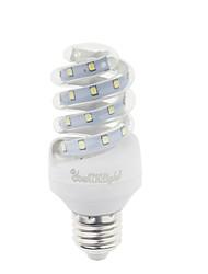 9W E26/E27 Bombillas LED de Mazorca T 23 SMD 2835 800 lm Blanco Cálido / Blanco Fresco Decorativa AC 100-240 V 1 pieza