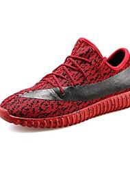 Unisexe-Sport-Noir / Rouge / GrisConfort-Chaussures d'Athlétisme-Microfibre
