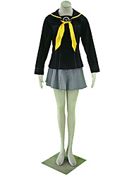 Inspired by Cosplay Cosplay Anime Cosplay Costumes Cosplay Suits Solid Cravat Skirt Shawl For Kid's
