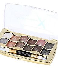 12 Eyeshadow Palette Dry Eyeshadow palette Powder Set Daily Makeup