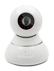 Besteye®HD720P Wired/Wireless WIFI IP Security Surveillance Camera 1.0M Pixels Night Vision Cloud Storage Smart Camera