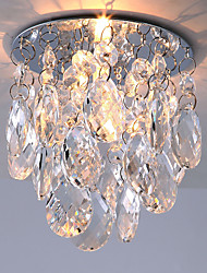 Modern Recessed Lighting With Clear Crystal