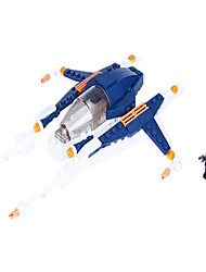 Action Figures & Stuffed Animals / Building Blocks For Gift  Building Blocks Model & Building Toy Fighter ABS5 to 7 Years / 8 to 13 Years