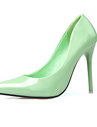 Women's Shoes Slip-on Light Green Heels/Pumps Pointed Toe Stiletto Heels Party/Dress Shoes