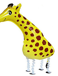 Balões Decoração Para Festas Animal alumínio Amarelo Para Meninos / Para Meninas 5 a 7 Anos / 8 a 13 Anos