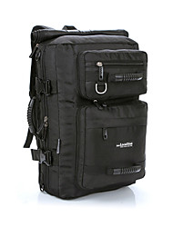 32 L Travel Duffel / Backpack / Rucksack / Holdall Camping & Hiking / Climbing / Traveling Outdoor Wearable Black Nylon