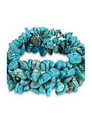 Women's Chain Bracelet Unique Design Fashion Birthstones Costume Jewelry Crystal Turquoise Irregular Jewelry Jewelry For Birthday Gift