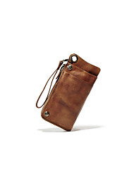 Casual / Office & Career / Shopping-Wallet-Cowhide-Unisex