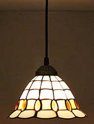 25W Pendant Light ,  Traditional/Classic / Retro Painting Feature for Mini Style Metal Bedroom / Entry