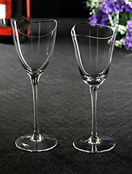 1 PC Slap-Up Creative Roses Glass Red Wine Glassware Champagne Glass