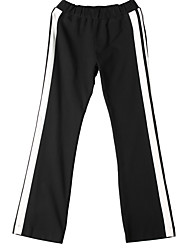 Women's Color Block Black Chinos Pants,Simple / Active Fall / Winter