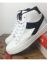 Femme-Extérieure / Décontracté-Noir / Blanc / GrisConfort-Sneakers-Similicuir