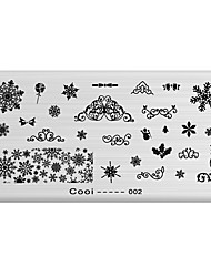 Nail Art Stamp Stamping Image Template Plate Cool Series