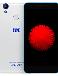 "THL T9 5.4 "" Android 6.0 Smartphone 4G ( Double SIM Quad Core 5 MP / 8 MP 1GB + 8 GB Gris / Blanc )"