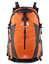 50 L Rucksack Camping & Wandern Draußen Wasserdicht / Atmungsaktiv Grün / Rot / Schwarz / Blau / Dunkelblau / Orange / Armeegrün