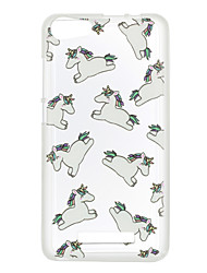 For Wiko Lenny 3 Case Cover Horse Pattern Back Cover Soft TPU Lenny 3 Sunset 2