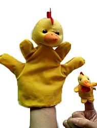 Animal Chicken Parent-Child Hand Even Occasional Chicken Big Hand Couple Chicken Little Finger Even