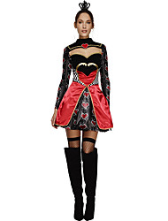 Cosplay Costumes Princess Queen Fairytale Movie Cosplay Black Solid Dress Halloween Carnival Female Polyester