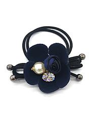 Women Cubic Zirconia / Imitation Pearl Headband,Vintage / Party / Work / Casual