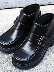 Черный-Женский-На каждый день-ПолиуретанOthers-Ботинки