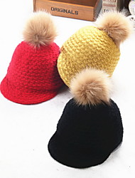 Cap Baseball Cap Cap Outdoor Sports Leisure Boom Warm  Comfortable  BaseballSports Wool Fabric Kids