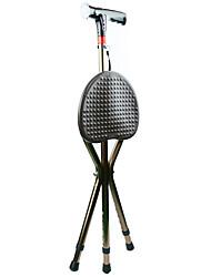 aluminium intelligent avec alarme de lumière radio béquilles trois - chaises pliantes à pied pour le banc des personnes âgées