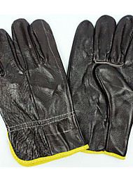 The First Layer Of Cowhide Welding Gloves Wear - Resistant Welder Anti - Skid Anti - Stab Gloves