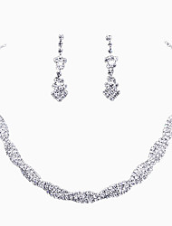 Surround Style Crystal Necklace Set