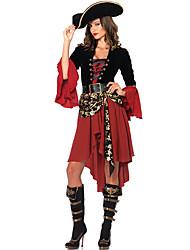 Costumes de Cosplay Costume de Soirée Rouge Térylène Accessoires de cosplay Halloween Carnaval Le Jour des enfants