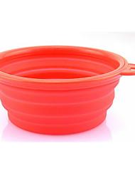 Dog Feeders Pet Bowls & Feeding Casual/Daily Random Color Plastic
