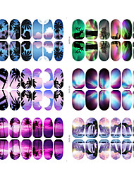 14 Nail Art Sticker  3D Nail Stickers Makeup Cosmetic Nail Art Design