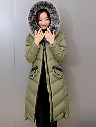 Spot really making a lot of new Nagymaros collar down jacket women long section of thick padded little monster Edition