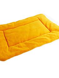 Собака Кровати Животные Одеяла Зеленый / Голубой / Оранжевый Ткань