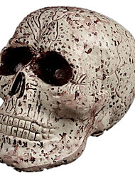Halloween Festive Supplies Bar Haunted House Props Skeleton Head Terrorist Head Hanging A Variety Of Optional (2)