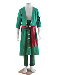 One Piece Cosplay Costumes Top / Coat /Pants  /Belt Male